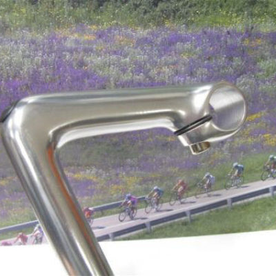 3TTT- 3T polished quill stem model Podium with 110mm lenght.