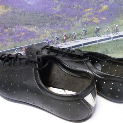 Late 70's cycling shoes , Size 40 .