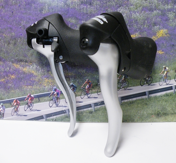 Shimano Sora model 3300 STI shifters 2 x 8speed