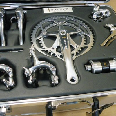 Shimano Dura Ace 7700 25th. Anniversary group number 1020