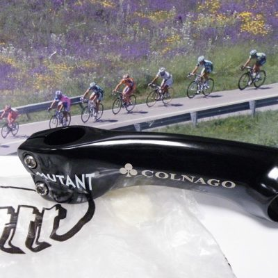 3T Mutant black Ahead stem 130mm lenght with Colnago logo