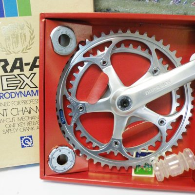 Shimano Dura Ace EX crankset model DD with bottom bracet