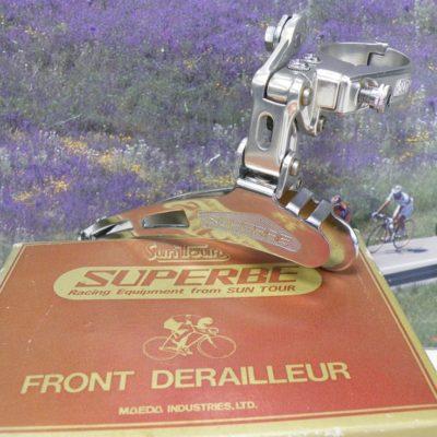 Suntour Superbe front mech. clampsize 28.6mm