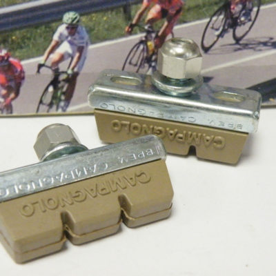Campagnolo holders with brake pads , set of 2 pieces