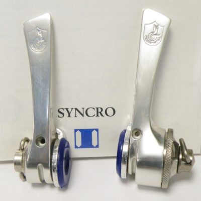 Campagnolo Syncro 7 shifter set, Without the index insert ring !
