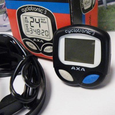 AXA cyclotronic 3 cycle odometer