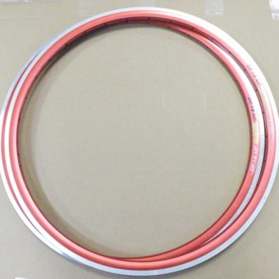 Rigida red anodized DP18 rims