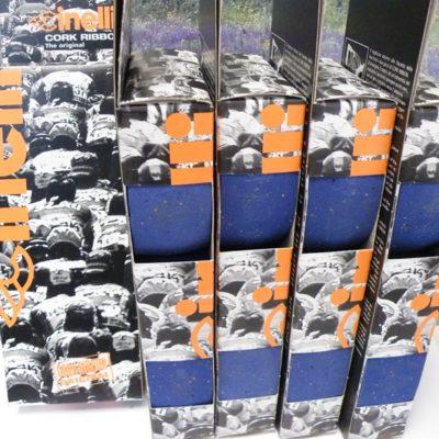 Cinelli bleu cork handlebar tape 5 pack
