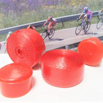 Benotto handlebar tape in red