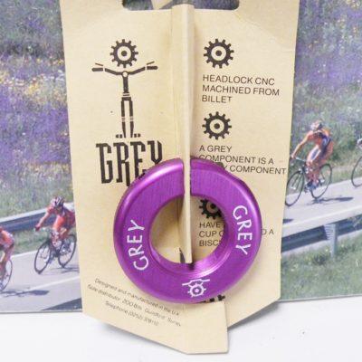 GREY Purple colour headlock , 1-1/8 inch thread