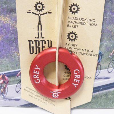GREY RED colour headlock , 1-1/8 inch thread