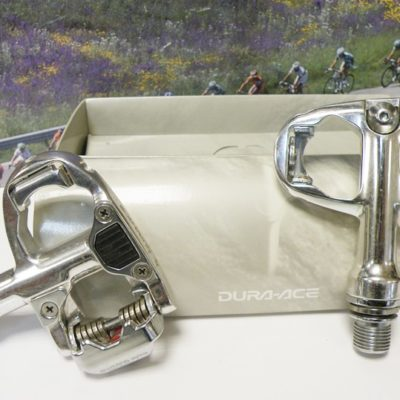 Shimano USED Dura Ace PD-7700 pedals 25th. Anniversary