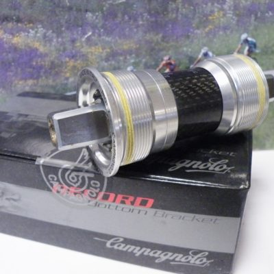 Campagnolo Record 102mm bottom bracket  English Thread Square Taper