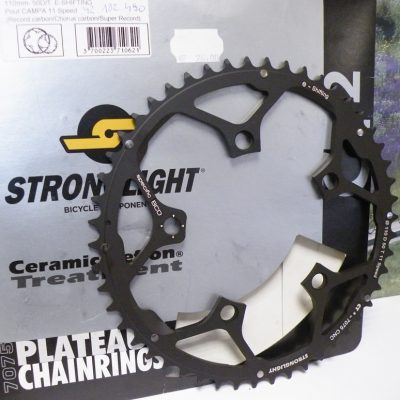 Stronglight 50 chainring BCD110  for Campa 11speed