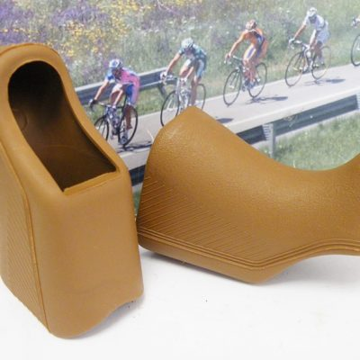 Non Aero replacement lever hoods brown