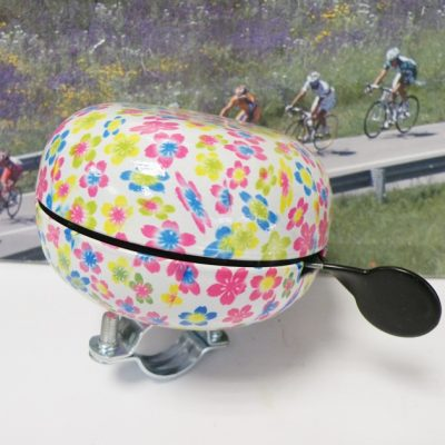 DingDong bell with flower print 80mm