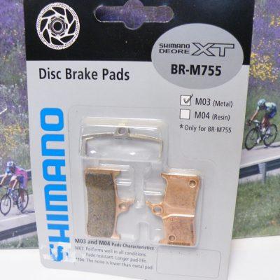 Shimano XT M755 disc brake pads