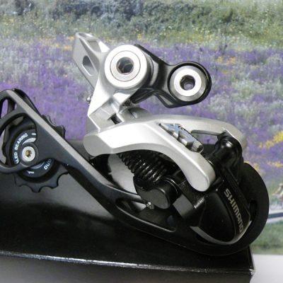Shimano XT M781  rear derailleur silver SGS
