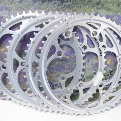 Campagnolo lot off 4 chainrings BCD135