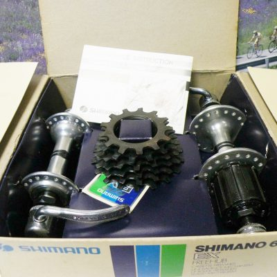 Shimano 600EX  Arabesque hubset with cassette