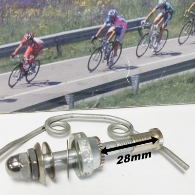 Campagnolo front brake bolt with spring
