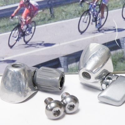 Shimano Dura Ace cable stoppers for downtube