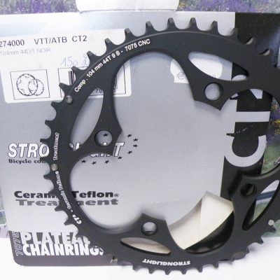 Stronglight BCD104 chainring 9 speed 44