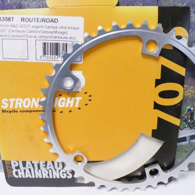 Stronglight BCD135 chainring 9/10 speed 42