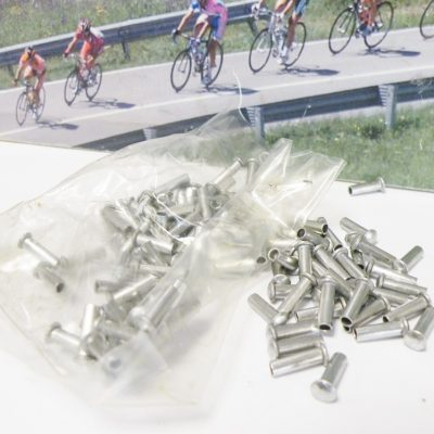 100 pieces end caps for inner cable